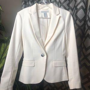 Brand new classy white blazer